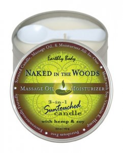 CANDLE 3 IN 1 NAKED IN THE WOODS 6.8 OZ