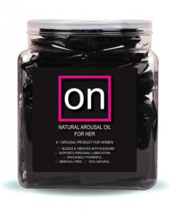 ON Natural Arousal Oil - Ampule Packet Bowl of 75