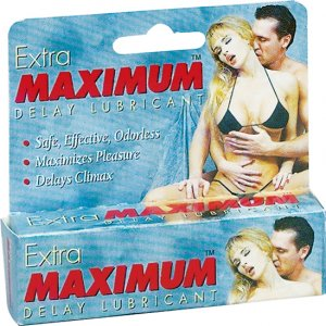 EXTRA MAXIMUM DELAY LUBE SMALL .5OZ