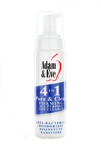 ADAM & EVE PURE & CLEAN FOAMING TOY CLEANER 8 OZ