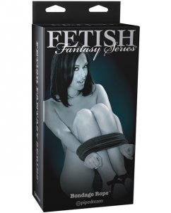 Fetish Fantasy Limited Edition Bondage Rope - Black