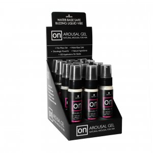 ON FOR HER AROUSAL GEL ORIGINAL 12PC DISPLAY