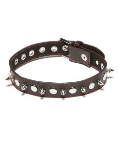 XPlay Spiked Collar - Black
