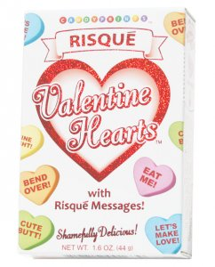 Risque Valentines Heart Candy - 1.6 oz Box