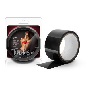 TEMPTASIA BONDAGE TAPE 60FT BLACK