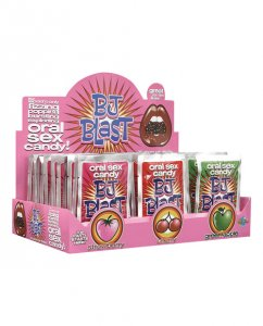 BJ Blast Oral Sex Candy - Asst. Flavors Display of 36