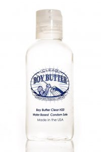 BOY BUTTER LUBRICANT CLEAR 4OZ BOTTLE