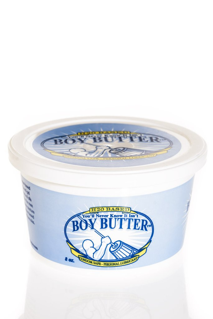 BOY BUTTER H2O 8 OZ TUB