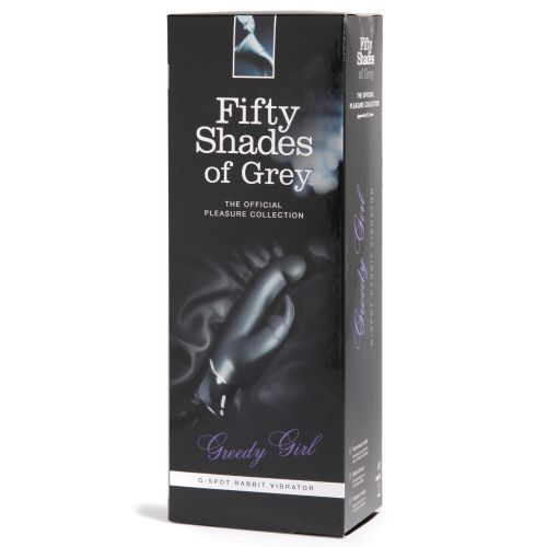 FIFTY SHADES GREEDY GIRL G SPOT RABBIT